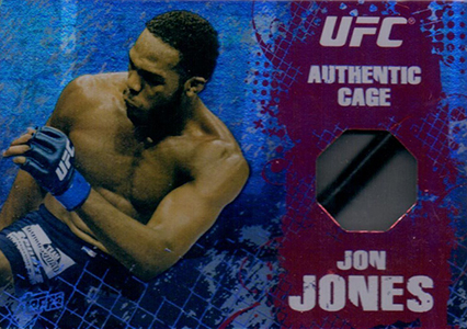 2010 Topps UFC Main Event Cage Relic Jon Jones