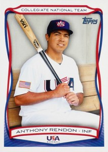 2010 Topps USA Baseball Anthony Rendon