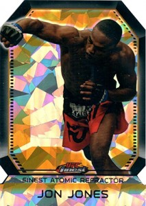 2011 Topps UFC Finest Atomic Refractor Jon Jones