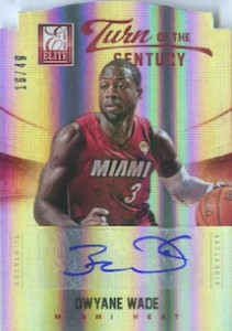 Top Dwyane Wade autograph card