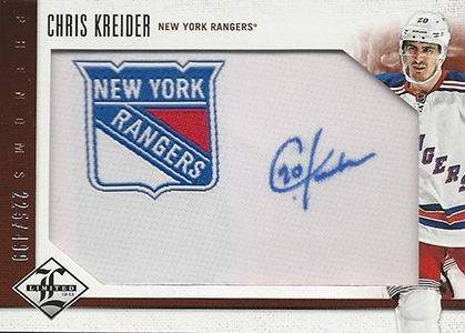 2012-13 Limited Chris Kreider RC