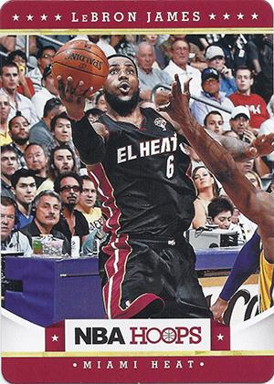 2012-13 Panini NBA Hoops Taco Bell Basketball Cards 22