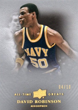 2012-13 Upper Deck All-Time Greats Basketball Cards 1