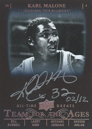 2012-13 Upper Deck All-Time Greats Basketball Cards 6