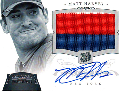 Matt Harvey Cards, Rookie Cards and Autograph Memorabilia Guide 20