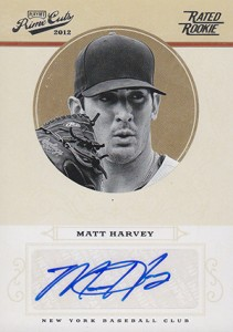 Matt Harvey Cards, Rookie Cards and Autograph Memorabilia Guide 21