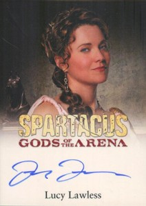 2012 Rittenhouse Spartacus Premium Pack Autographs Lucy Lawless