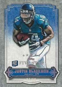 Exclusive 2012 Topps Five Star Club Cards Surface 9
