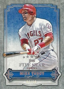 Exclusive 2012 Topps Five Star Club Cards Surface 4