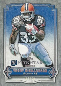 Exclusive 2012 Topps Five Star Club Cards Surface 8