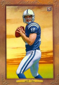 2012 Topps Turkey Red Football Variations Guide 1