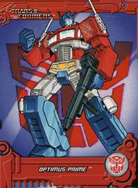 2013 Breygent Transformers Optimum Collection Trading Cards 29