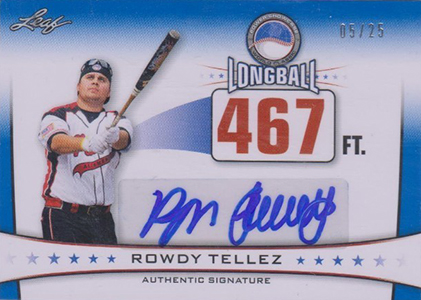 2013 Leaf Power Showcase Baseball Cards 23
