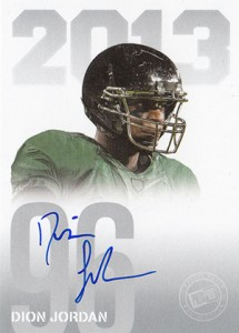 2013 Press Pass Autographs Dion Jordan