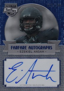 2013 Press Pass FanFare Ezekiel Ansah Autograph