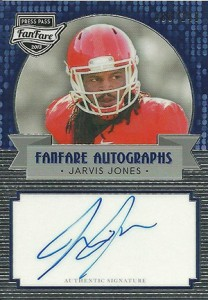 2013 Press Pass FanFare Jarvis Jones