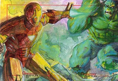 2013 Rittenhouse Marvel Greatest Battles Trading Cards 25