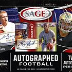2013 Sage Autographed Football Cards