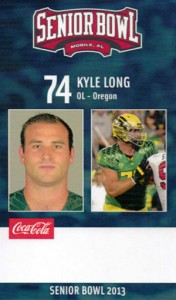 2013 Senior Bowl Kyle Long