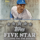 2013 Topps Five Star Baseball Cards