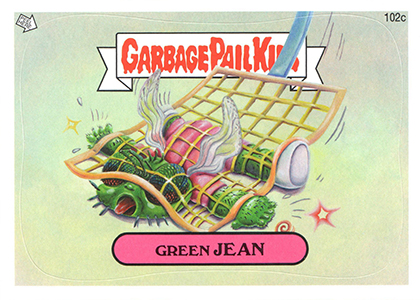 2013 Topps Garbage Pail Kids Brand New Series 2 C Variations 2