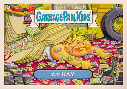 2013 Topps Garbage Pail Kids Brand New Series 2 C Variations 16