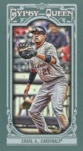 2013 Topps Gypsy Queen Baseball Mini Card Variations Guide 84