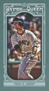 2013 Topps Gypsy Queen Baseball Mini Card Variations Guide 18