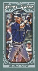 2013 Topps Gypsy Queen Baseball Mini Card Variations Guide 28