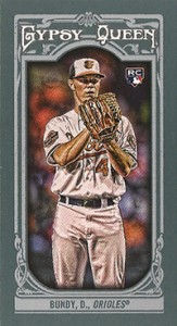 2013 Topps Gypsy Queen Baseball Mini Card Variations Guide 41