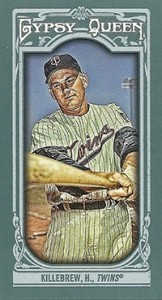 2013 Topps Gypsy Queen Baseball Mini Card Variations Guide 60