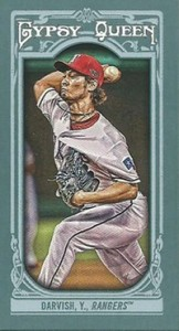 2013 Topps Gypsy Queen Baseball Mini Card Variations Guide 17