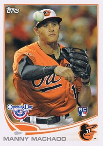 2013 Topps Opening Day Manny Machado RC