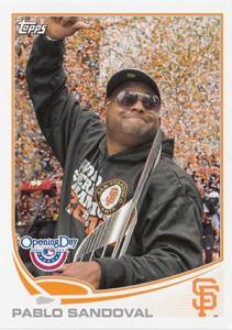 2013 Topps Opening Day Baseball Variations Short Prints Guide 14