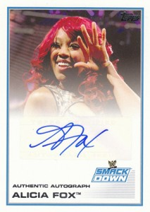 2013 Topps WWE Autographs Visual Guide 2