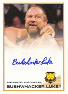 2013 Topps WWE Autographs Visual Guide 5