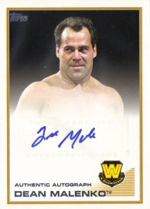 2013 Topps WWE Autographs Visual Guide 8