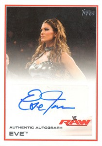 2013 Topps WWE Autographs Visual Guide 10