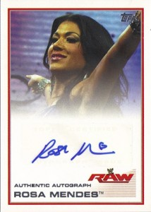 2013 Topps WWE Autographs Visual Guide 17