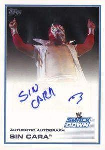 2013 Topps WWE Autographs Visual Guide 19