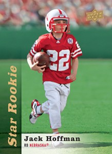 Special Upper Deck Jack Hoffman Football Card Now Available 1