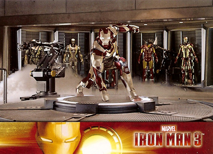 2013 Upper Deck Iron Man 3 Base Card