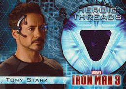 2013 Upper Deck Iron Man 3 Heroic Threads HT-1 Tony Stark