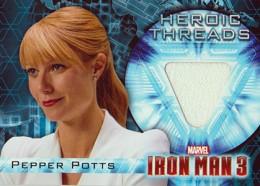 2013 Upper Deck Iron Man 3 Heroic Threads HT-6 Pepper Potts