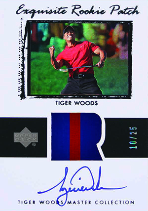 2013 Upper Deck Tiger Woods Master Collection Golf Cards 26