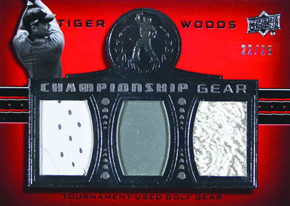 2013 Upper Deck Tiger Woods Master Collection Golf Cards 25
