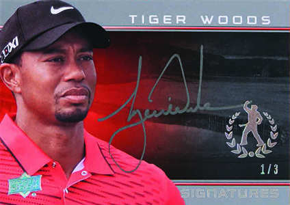2013 Upper Deck Tiger Woods Master Collection Golf Cards 30