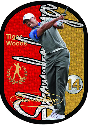 2013 Upper Deck Tiger Woods Master Collection Golf Cards 35