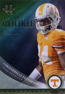 2013 Upper Deck Ultimate Collection Cordarrelle Patterson