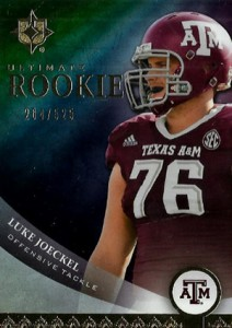 2013 Upper Deck Ultimate Collection Luke Joeckel